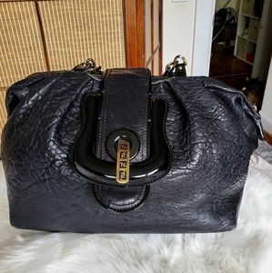 FENDI🖤AUTHENTIC LARGE SOFT LEATHER B BAG